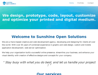 sunopensol.com screenshot