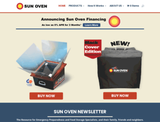 sunoven.com screenshot