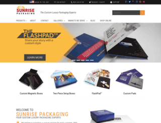 sunpack.com screenshot