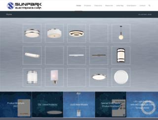 sunparkelectronics.com screenshot