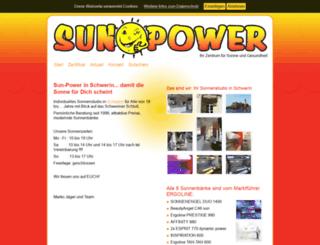 sunpower-schwerin.de screenshot