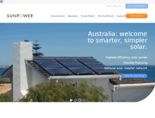 sunpowercorp.com.au screenshot