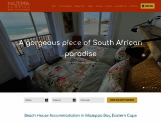 sunrisecottage.co.za screenshot