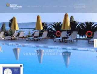 sunrisehotel-lesvos.com screenshot