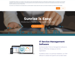 sunrisesoftware.co.uk screenshot