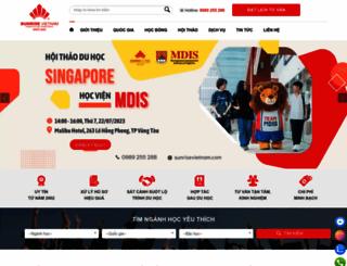 sunrisevietnam.com screenshot