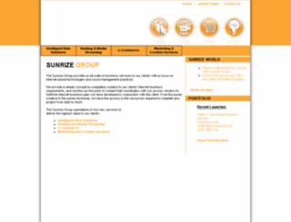sunrize.ca screenshot
