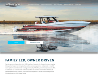 sunsationboats.com screenshot