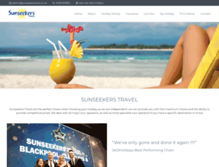 sunseekerstravel.co.uk screenshot