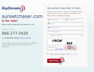 sunsetchaser.com screenshot