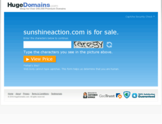 sunshineaction.com screenshot