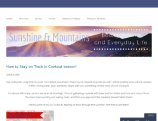 sunshineandmountains.com screenshot