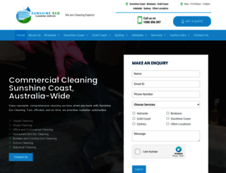 sunshineecocleaningservices.com.au screenshot