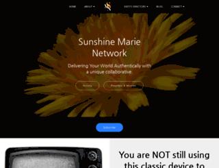 sunshinemarienetwork.com screenshot