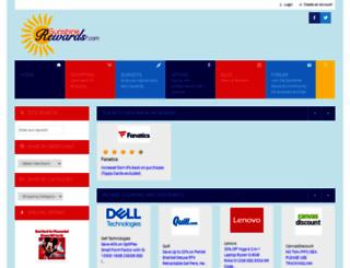 sunshinerewards.com screenshot
