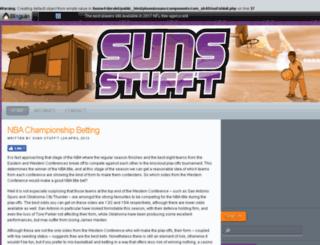 sunsstufft.com screenshot