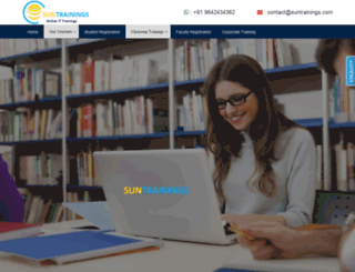 suntrainings.com screenshot
