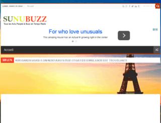 sunubuzz.com screenshot