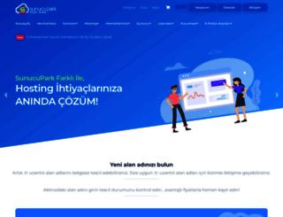 sunucupark.com screenshot