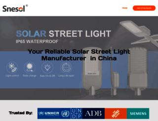 sunvis-solarlighting.com screenshot