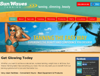sunwaves.co.uk screenshot