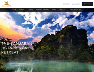 sunwayhotels.com screenshot