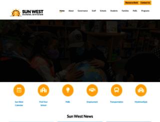 sunwestsd.ca screenshot