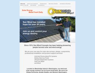 sunwindconcepts.bizland.com screenshot