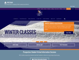 sunynassau.edu screenshot