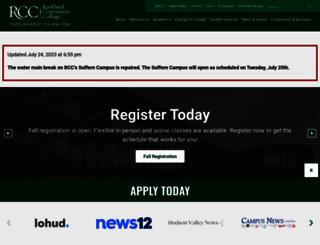 sunyrockland.edu screenshot