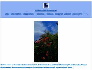 suomenlottaperinneliitto.fi screenshot
