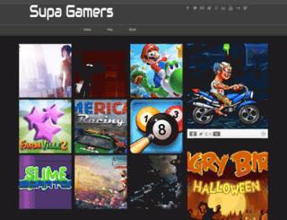 supagamers.blogspot.com screenshot