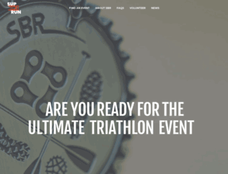 supbikerun.co.uk screenshot