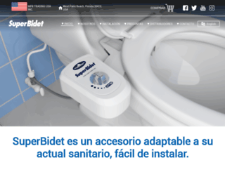super-bidet.com screenshot