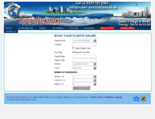 super-destinations.com screenshot
