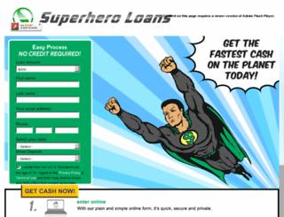 super-heroloans1.com screenshot