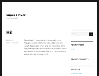 super-lover.net screenshot