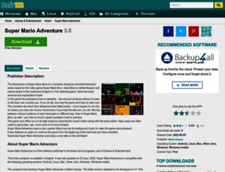 super-mario-adventure.soft112.com screenshot