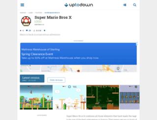 super-mario-bros-x.en.uptodown.com screenshot