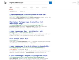 super-messenger.com screenshot