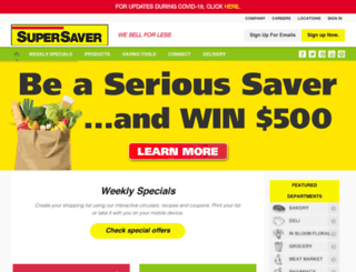 super-saver.com screenshot