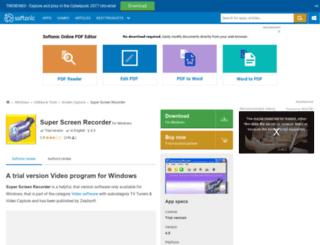 super-screen-recorder.en.softonic.com screenshot