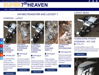 super7thheaven.co.uk screenshot
