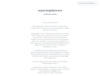 superangeljuicers.com screenshot