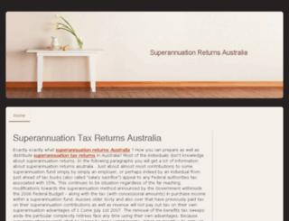 superannuation-returns.jimdo.com screenshot