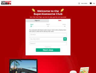 superawesome.club screenshot