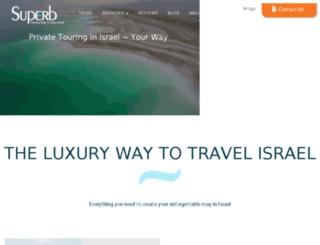 superb-private-tours.com screenshot