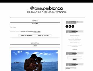 superbianca.blogspot.co.uk screenshot