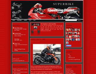 superbike-2508.blogspot.com screenshot