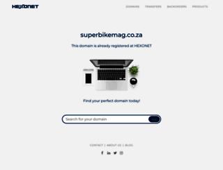 superbikemag.co.za screenshot